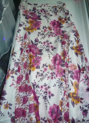 Цветочная юбка principles petite