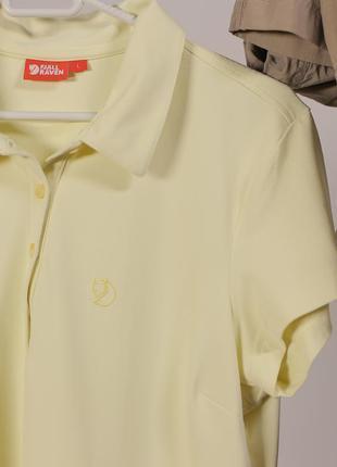 Стильна футболка поло fjallraven - максимальний sale до 01/11