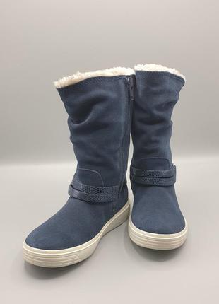 Оригінальні чобітки для дівчаток ecco