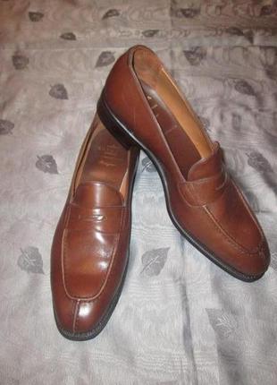 Carmina оригинал женские кожаные туфли пенни лоферы как jil sander marni santoni uk 7