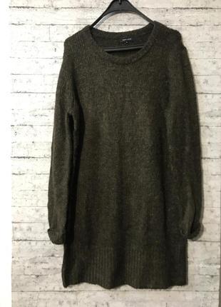 Стильный мягкий свитер туника