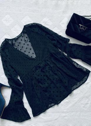 Стильная блузка 🖤