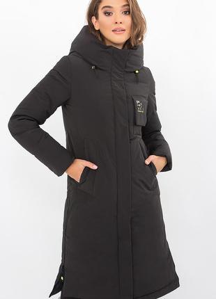 Удлиненная зимняя куртка/биопух