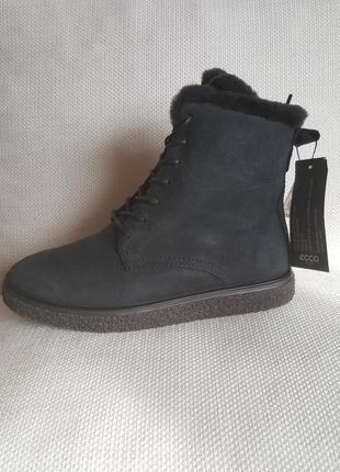 Ботинки ecco зима оригинал