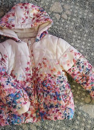 Куртка для дівчинки на 3-4 роки