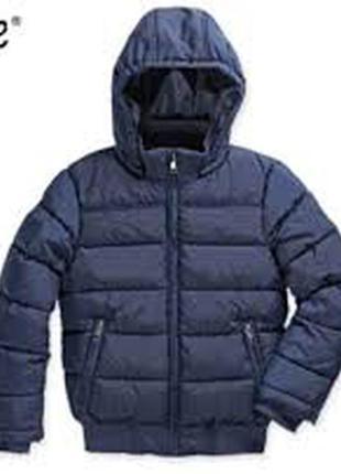 Теплая зимняя куртка подростковая на парня от alive размер на рост 164