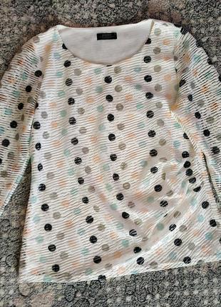 Блуза в горошок papaya