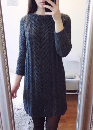 Светр-плаття zara