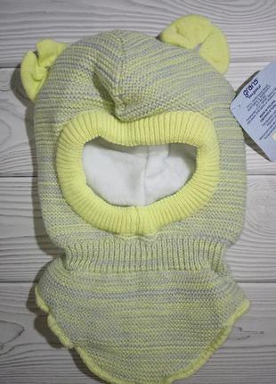 Шапка шлем капор балаклава grans желтый польша