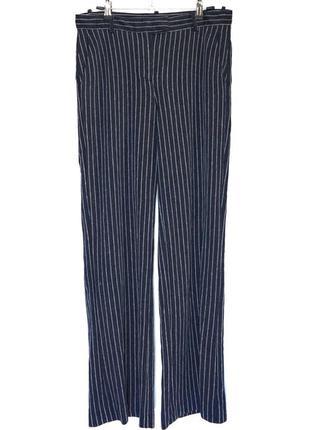 Жіночі штани в полоску circolo 1901 котон льон