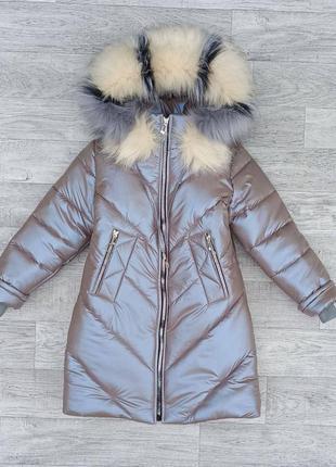 Пальто зимнее зима подростковое  пуховик зимовий підлітковий куртка зимова зимняя плащ