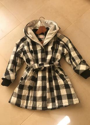 Фирменные зимние пальто плащ куртка трансформер