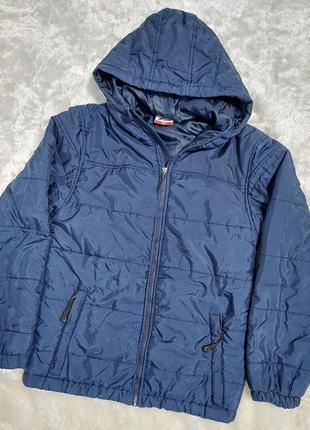 Стильна демісезонна підросткова курточка