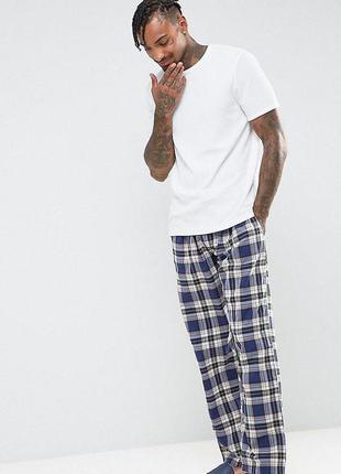 Пижамные штаны в клетку, штаны для дома tokyo laundry