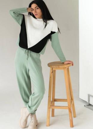 Трикотажний костюм двійка