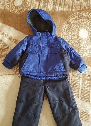 Зимний комплект (комбинезон и куртка)
