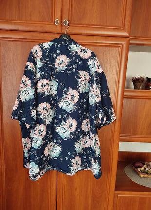 Рубашка коттоновая батал 68  размер