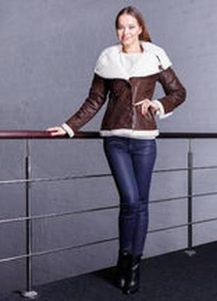 Женская куртка-пилот