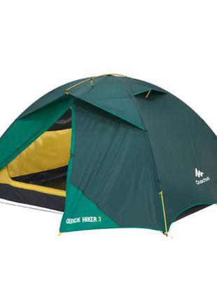 3-местная палатка quick hiker