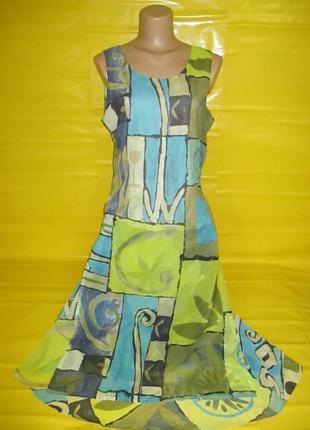 Очень красивое женское платье jacques vert №207