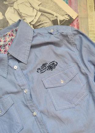 Хлопковая легкая рубашка benotti