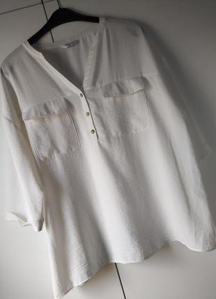 Вільна блуза топ великого розміру