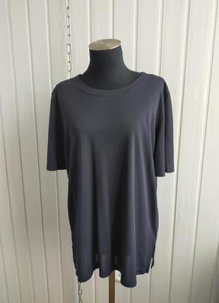 Базовая футболка lе tricot longhin , m, прямого кроя