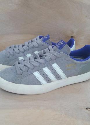 Замшевые кроссовки adidas basketprofi ( 37 размер )