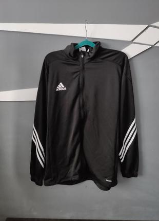 Мужская черная кофта adidas