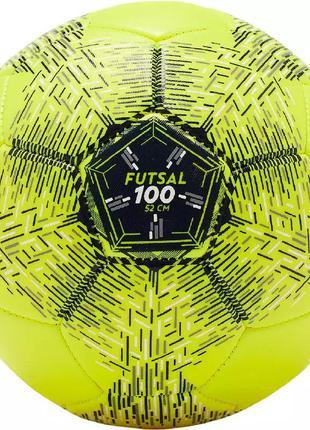 Мяч футбольный детский f100 (52 см) imviso (размер 2)
