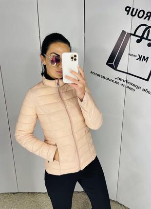 Пудрова курточка бренд manor 36 розмір по супер ціні 390 грн