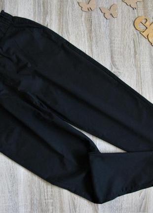 Черные свободные брюки chicoree пояс резинка eur 42/44
