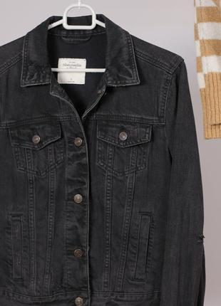 Стильна джинсовка abercrombie & fitch - максимальний sale до 01/11