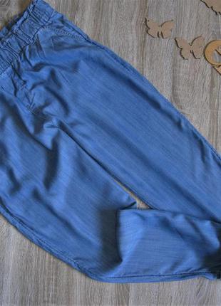 Брюки c&a лиоцелл с расцветкой под джинс eur 42 /44