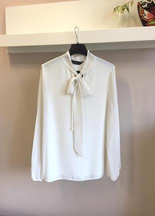 Элегантная блуза-айвори