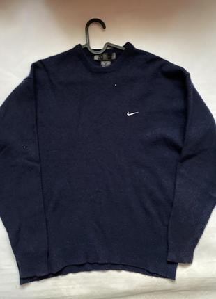 Nike swoosh светер кофта casual  golf