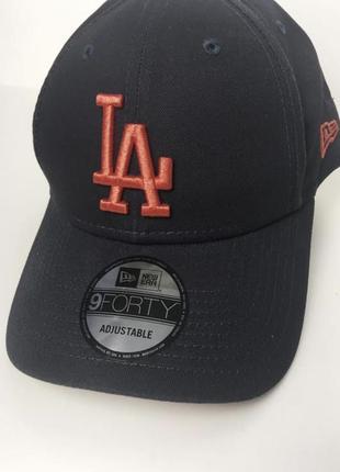 Бейсболка / кепка new era league essential 9forty los angeles dodgers