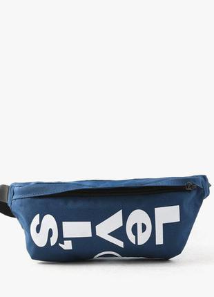 Оригинальная levis сумка- бананка sling bag