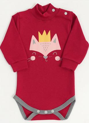 Боди лисичка для малышек