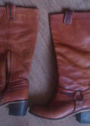 Кожаные сапоги rosaline