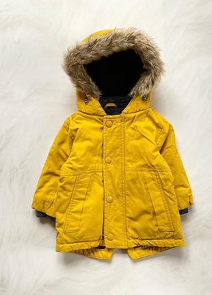 George стильная деми  куртка-парка  на мальчика 1-1,5 года