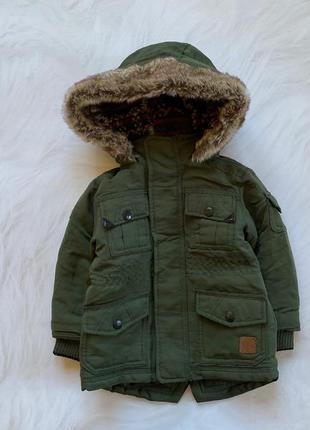 Matalan стильная куртка на мальчика  12-18 мес