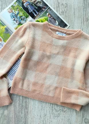 Укороченный мягусенький свитер, свитерок, кофта