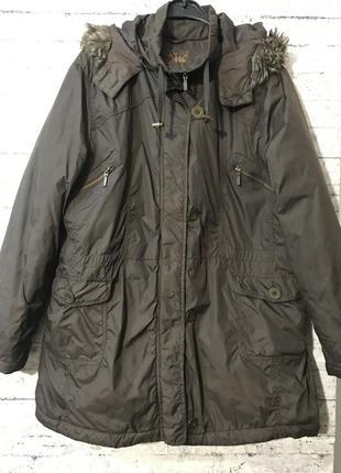 Демисезонная куртка парка батал