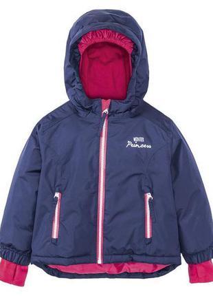 Зимова лижна курточка на дівчинку lupilu