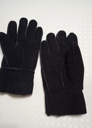 Мужские перчатки овчина