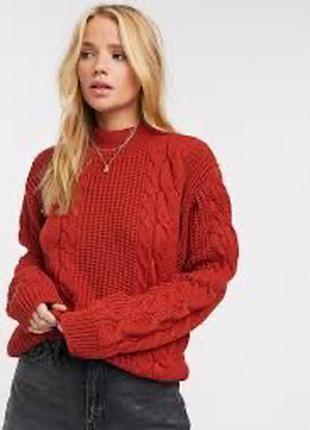 Очень красивый вязаный свитер abercrombie & fitch