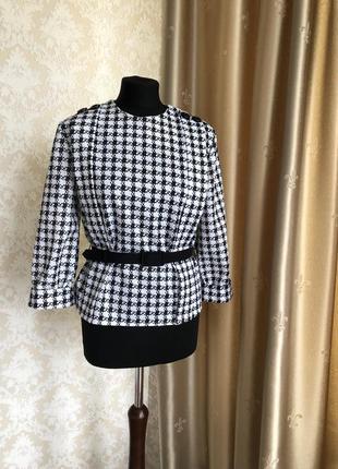 Винтажная блуза из англии