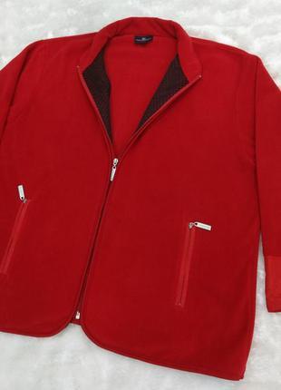 Стильная флисовая кофта / курточка, батал большой размер xl-xxl hs navigazione германия