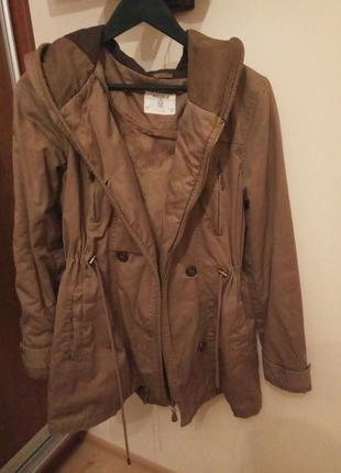 Куртка, парка, пальто pull and bear